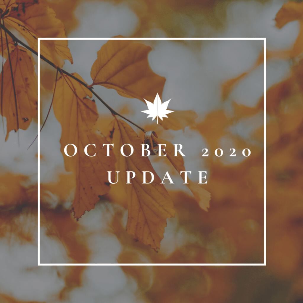 OCTOBER 2020 COVID-19 UPDATE