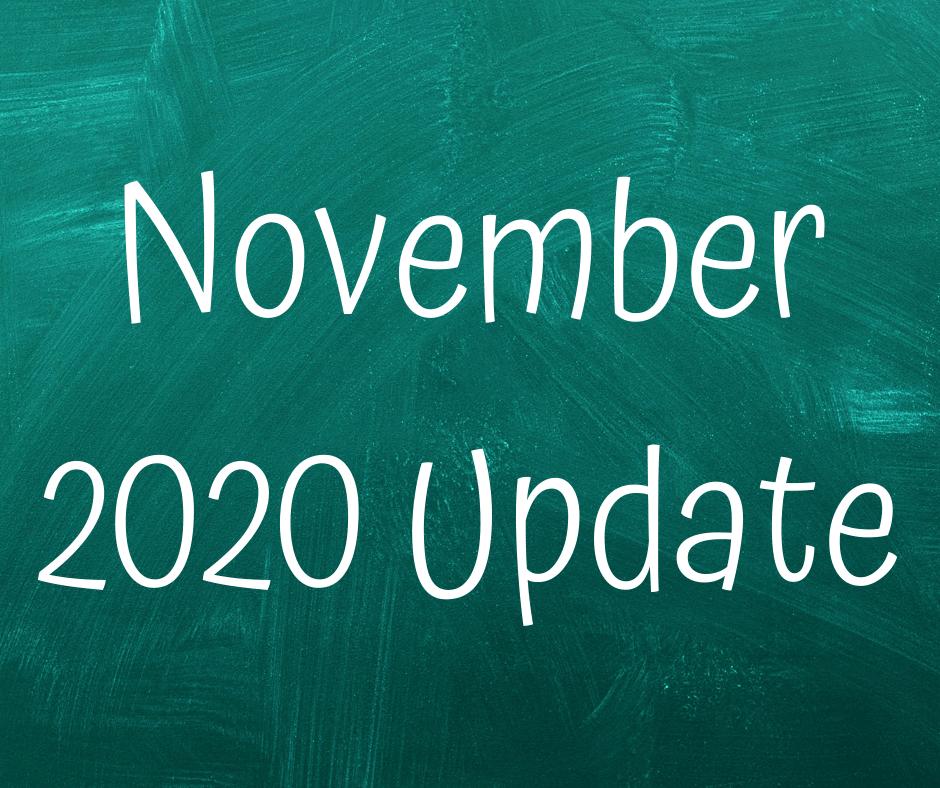 NOVEMBER 2020 COVID-19 UPDATE