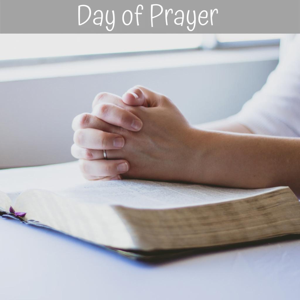 Day of Prayer – 20th March 2021
