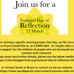 National Day of Reflection 2021
