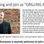Grilling a Bishop Event